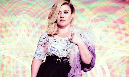 Kelly Clarkson with Special Guest Pentatonix at Shoreline Amphitheatre on August 23 at 7 p.m. (Up to 40% Off)