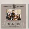 Custom Family-Name Canvas Print from GiftsForYouNow