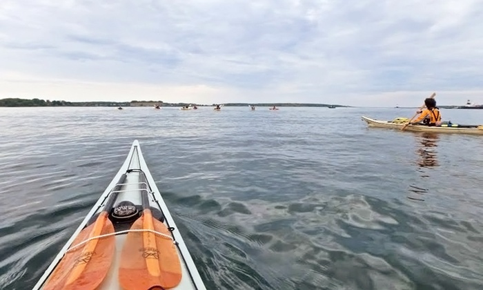 Portland Paddle - East End Beach: Half-Day Sea-Kayak Tour for One or Two at Portland Paddle (Up to 41% Off)