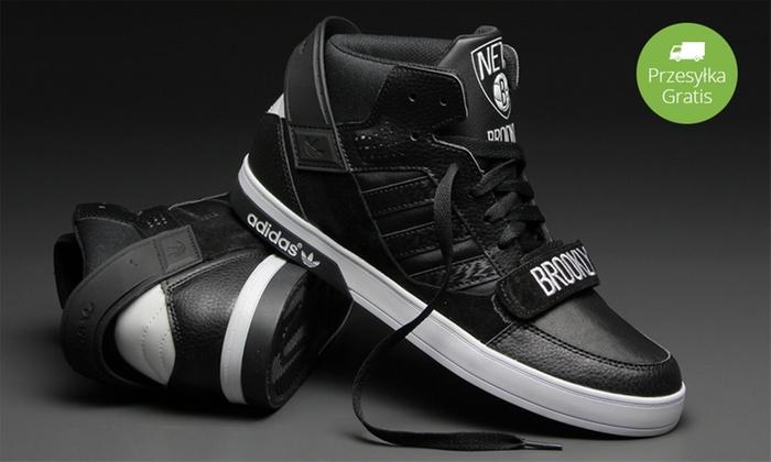 185 zł: stylowe buty Adidas Hard Court Defender Brooklyn Nets NBA