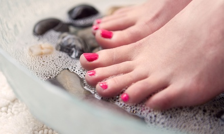 One or Three 60-Minute Pedicures or One Couples Pedicure at Red Orchid Day Spa (Up to 42% Off)