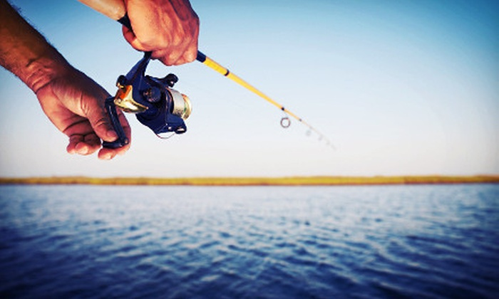 Gone Fishin' Bait and Tackle - Cuyahoga Falls: Three-Hour Fishing Charter for One, Two, or Four People from Gone Fishin' Bait and Tackle in Cuyahoga Falls (Up to 60% Off)