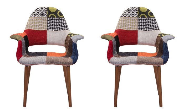 Marvelous Zuo Modern Moshe Patchwork Dining Chairs (Set Of 2): Zuo Modern Moshe  Patchwork ...