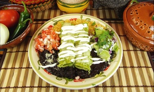 Tacos and Company: $12 for $25 Worth of Mexican Cuisine at Tacos and Company