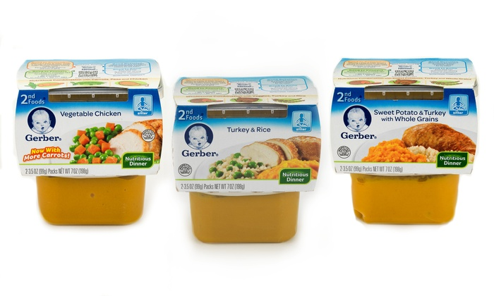 Gerber Baby Food Flavors Products