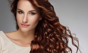 Salon Bamboo: Keratin Treatment or Haircut with Conditioning and Optional Color at Salon Bamboo (Up to 51% Off)