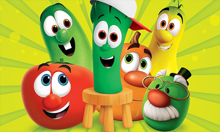 """Veggie Tales Live! - Multiple Locations: """"VeggieTales Live! Little Kids Do Big Things"""" on Friday, November 20, at 4 p.m. or 7 p.m."""
