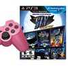 Sony PlayStation 3 Controller and The Sly Collection Game Bundle