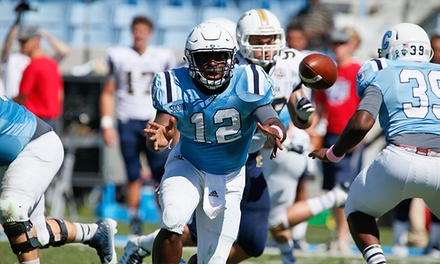 Citadel College Football Game for Two or Four at Johnson Hagood Stadium on September 5 or 26 (Up to 54% Off)