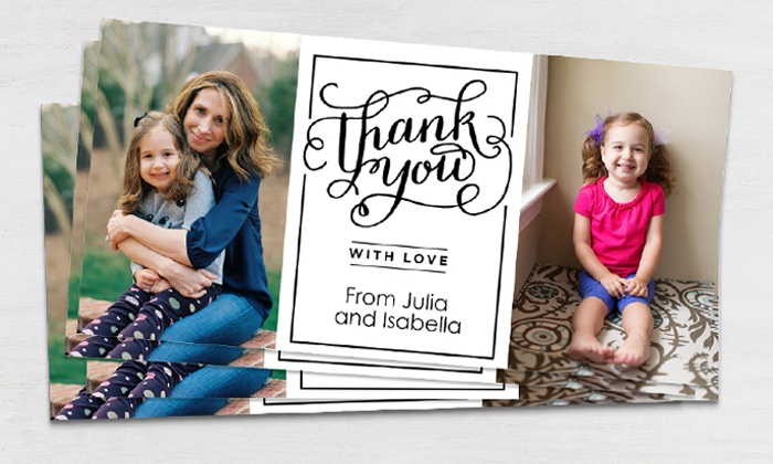 Snapfish: Custom Photo or Stationery Cards from Snapfish (Up to 69% Off)