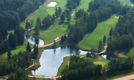 18 Holes of Golf for Two or Four with Power Cart at the Black Bull Golf Resort (Up to 58% Off)