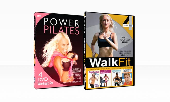 Power Pilates and Walk Fit 8-DVD Workout Bundle: Power Pilates and Walk Fit 8-DVD Workout Bundle. Free Shipping and Returns.
