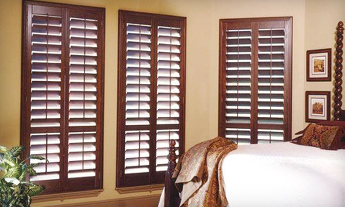 DFW Premium Shutters  - Dallas: $199 for $600 Worth of Custom-Built Plantation Shutters with Installation and Measurements from DFW Premium Shutters