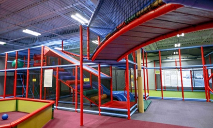 Play Pass, Party Package, or Facility Rental at Cafe O'Play (Up to 34% Off). Seven Options Available.