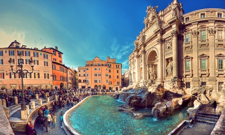 ✈ Rome: 2 to 5 Nights at Marc`Aurelio or Reganelli Hotel with Breakfasts and Return Flights*