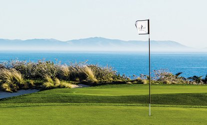 image for Nine-Hole Round of <strong>Golf</strong> for Two or Four at The Links at Terranea (Up to 57% Off)