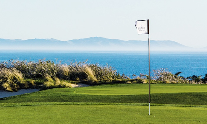 The Links at Terranea - Rancho Palos Verdes: Nine-Hole Round of Golf with Push Carts for Two or Four at The Links at Terranea (Up to 54% Off)