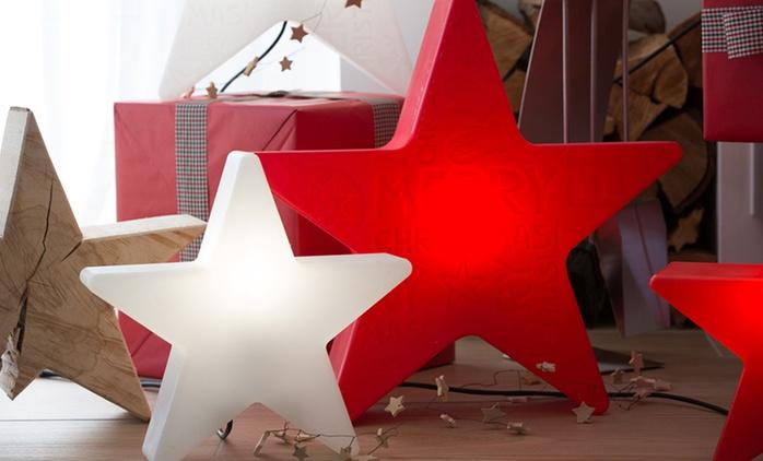 Shining Star Lampe in der Größe nach Wahl, optional mit Farbwechsel von 8 Seasons Design (bis zu 50% sparen*)