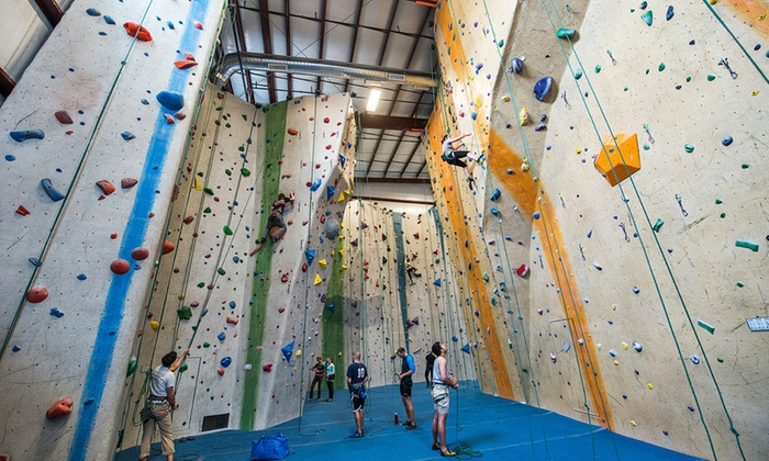 Central Rock Gym - Watertown: $49 for One Month of Indoor Rock Climbing with Gear and a Beginner Class at Central Rock Gym ($99 Value)
