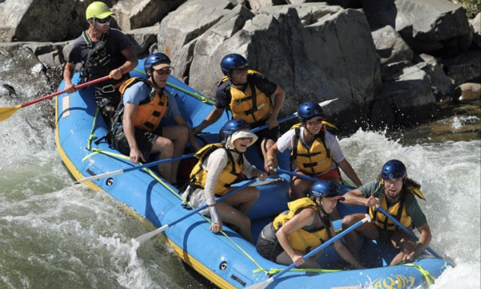 Action Whitewater Adventures - Lotus: $139 for Full-Day Middle Fork Wilderness Rafting Trip with Gourmet Lunch for One Adult ($239 Value)