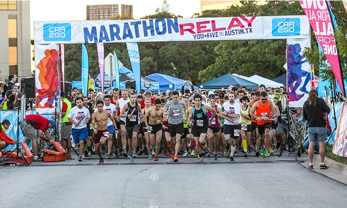 Team LIVESTRONG - Austin: $33 for a car2go Marathon Relay Entry for One on Saturday, September 20 ($65 Value)