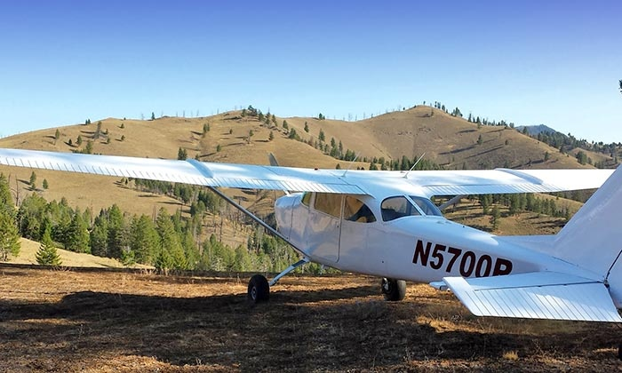 SP Aircraft - SP Aircraft: Back-Country Air Tour with Brunch for One or Two at SP Aircraft (Up to 66% Off)