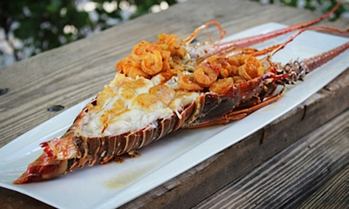Boater's Grill - Bill Baggs Cape Florida State Park: Seafood at Boater's Grill (Half Off). Two Options Available.