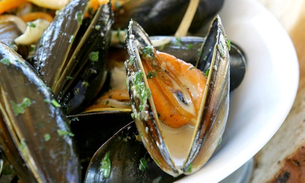 Upscale French Cuisine and Drinks for Two or Four at A.O.C. (Up to 46% Off). Four Options Available.