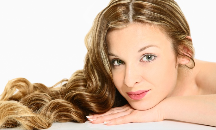 Holly Stovall at Little Flower Day Spa - Mountain Brook: Haircut Package with Optional Partial or Full Highlights with Holly Stovall at Little Flower Day Spa (Up to 54% Off)