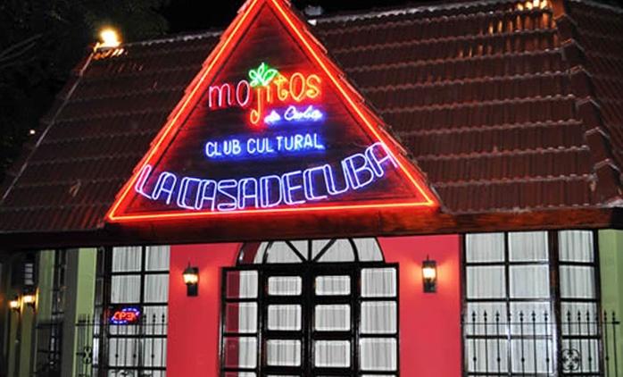 Desde $339 por cena show para dos o cuatro en Mojitos de Cuba