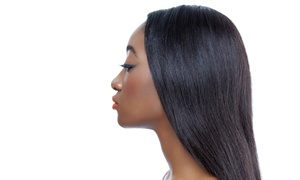 Styles by Stacey: Relaxer, Conditioning Treatment, and Style or Full Weave, Cut, and Style at Styles by Stacey (Up to 53% Off)