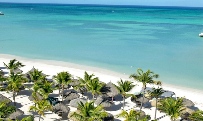 Occidental Grand Aruba Resort Vacation with Airfare from Travel by Jen - Aruba: All-Inclusive Occidental Grand Aruba Stay with Airfare. Incl. Taxes & Fees. Price Per Person Based on Double Occupancy