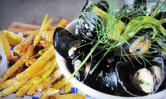 Branch Whiskey Bar - Alberta Arts: $15 for $30 Worth of Upscale Pub Food at Branch Whiskey Bar