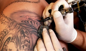 Nikita Productions: 13th Annual Slinging Ink Tattoo Expo presented by Nikita Productions (Up to 37% Off). Three Options.