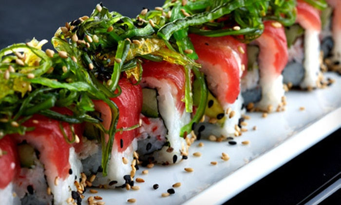 State St. Grill - College Area,College Heights,Mid-City: $20 for $40 Worth of Sushi, Casual Food, and Drinks at State St. Grill