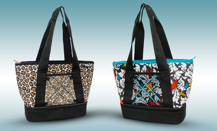 Polar Pack Printed Insulated Tote Bag. Multiple Styles Available. Free Returns.