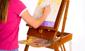 Mehnoosh art classes: Four Intro Art Classes for Children or Teens and Adults at MEhnoosh art classes (Up to 50% Off)