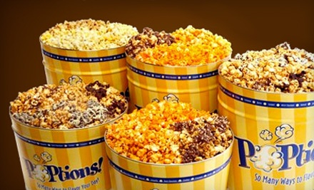 $10 Groupon for Gourmet Flavored-Popcorn Bags - Poptions in St Louis