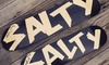 the salty plank - Century City: $20 for $40 Worth of Custom Skateboards and Apparel at the salty plank