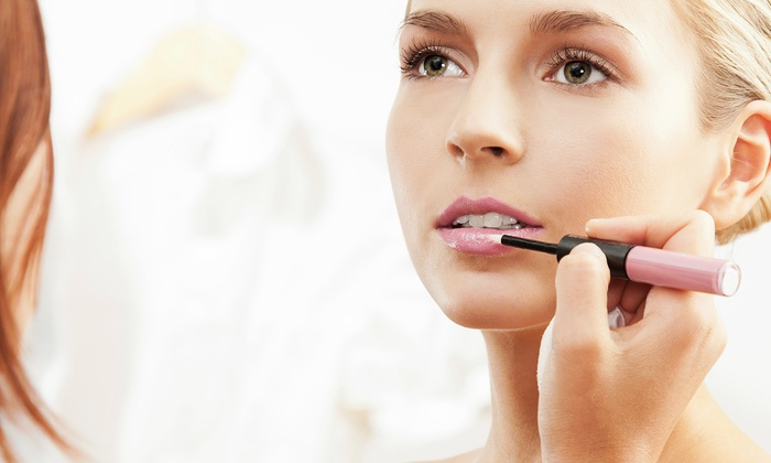 La Jade Faces - Andover: One or Three 30-Minute Full-Face Makeup Applications at La Jade Faces (Up to 54% Off)
