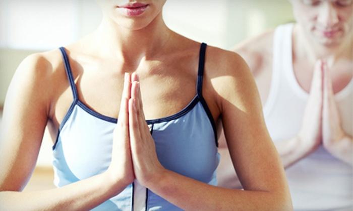 Live, Laugh, Love Yoga Studio - Omaha: 10 Yoga Classes, Three Months of Unlimited Yoga, or 3 Private Yoga Sessions at Live, Laugh, Love Yoga Studio (61% Off)