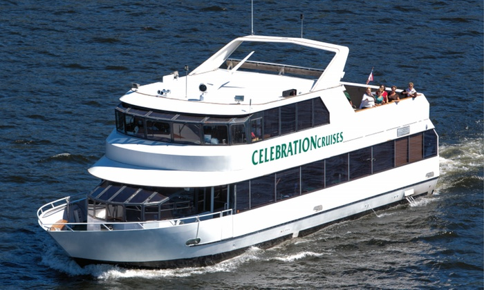 Celebration Cruises - Osage Beach: Lake of the Ozarks Lunch Cruise for Two or Four or Dinner Cruise for Two from Celebration Cruises (Up to 50% Off)