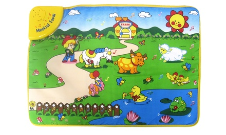 Smartots Little Genius Funny Farm Music Mat