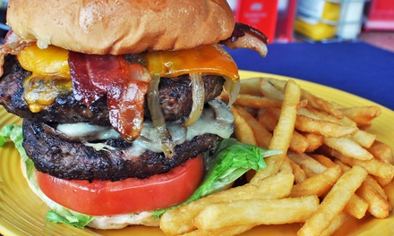 $12 for $20 Worth of Unique Burgers and More at Hamburger Mary's
