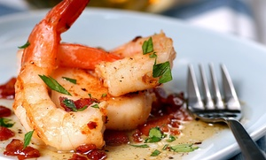 Shrimp House - Fontana: Seafood at Shrimp House - Fontana (45% Off). Two Options Available.