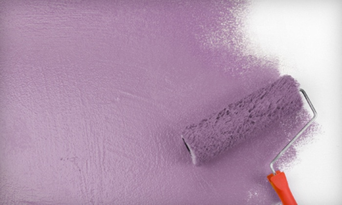 All Services Group - Austin: Interior Painting for One or Two Rooms from All Services Group (Up to 64% Off)