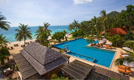 Thailand, Koh Samui: 5  or 7 Night Tropical Escape for Two with Breakfast and Welcome Drinks at New Star Beach Resort