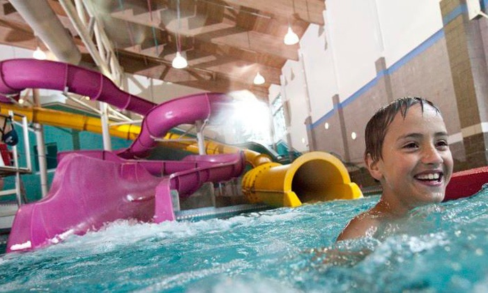 North Clackamas Aquatic Park - North Clackamas Water Park: Indoor Water Park Visit for Four Residents or Non-residents at North Clackamas Aquatic Park (Up to 50% Off)