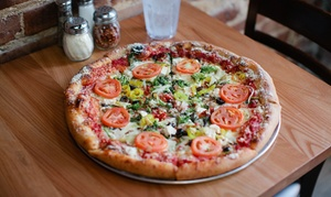 Mellow Mushroom – $15 for Pizza and Salads at Mellow Mushroom , plus 9.0% Cash Back from Ebates.
