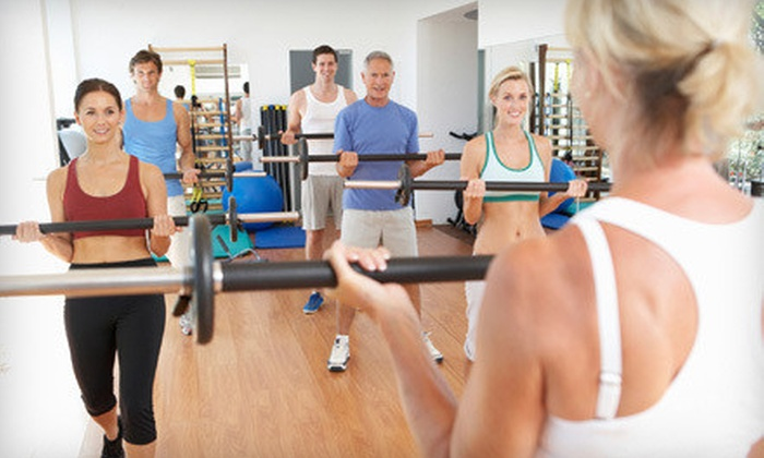 Shoreline Fitness - Multiple Locations: $25 for 15 Fitness Classes at Shoreline Fitness ($99.99 Value)